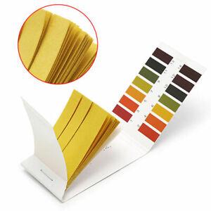 80x pH Indicator Test Strips 1-14 Laboratory Paper Litmus Tester Urine Saliva