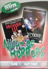 House 3 + Body Count - Double Horror DVD