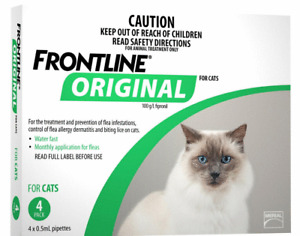 Frontline Original For Kittens Cats 4pk Flea treatment  - FREE SHIPPING