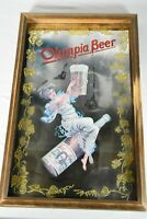 VTG OLYMPIA BEER PALE EXPORT CAPITAL BREWING OLYMPIA WI ACID ETCHED MIRROR