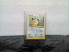 Meowth #10 JR RAILROAD Black Star Promo SUPER RARE Pokemon Card NEAR MINT