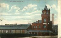 Rochester NY Erie RR Train Depot Station c1910 Postcard