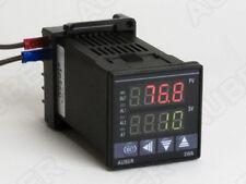 1/16 DIN PID Temperature Controller w/ Timer (SSR Control)