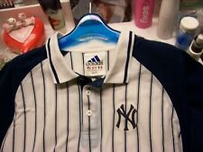 "men's sz L 46"" New York Yankees polo shirt & Reggie Jackson #44 pin"