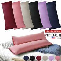 Body Pillow Case Soft Microfiber Long Bedding Long Body Pillow Covers King/Queen