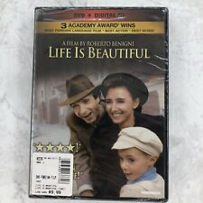 Life Is Beautiful Roberto Benigni Best Foreign Language Film Dvd Digital Sealed