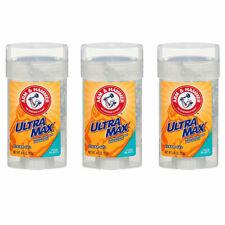 (3 Pack) NEW Arm & Hammer Ultra Max,Deodorant ,Clear Gel Cool Blast, 4 Ounce