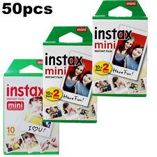 50 Schüsse Fuji Instax Mini Film für Fujifilm Mini 8 7s & Mini 25, 70, 90 Kamera