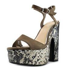 Zapatos de tacón de mujer plataformas Jessica color principal beige