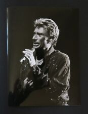 Photo concert argentique JOHNNY HALLYDAY circa 2000 18x24 cm