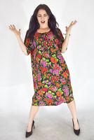 KEN SCOTT Vestito Multicolore Stile Casual TG IT 48/M Donna Woman