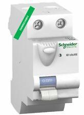 Interrupteur différentiel  2P 40A 30mA type AC Embrochable Schneider 16160