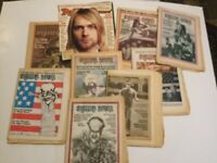 9 Rolling Stone Magazines Most From 1972