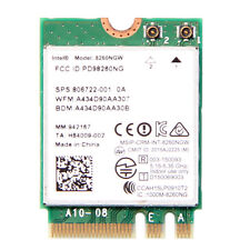 Intel 8260NGW Wireless-AC Dual band 867Mbps NGFF WIFI Network Card For Laptop