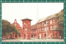(CWC) Malaya 1950s/1960s Red Clock Tower Malacca / Melaka Postcard #3309 NM.