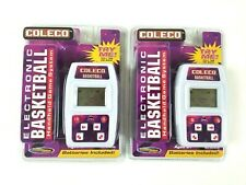 Sealed Coleco Electronic Basketball Handheld Game System Techno Source Lot of 2
