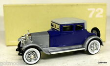 RIO 1/43 - 72 ROLLS ROYCE MOD. TWENTY 1923 BLUE / SILVER  DIECAST MODEL CAR