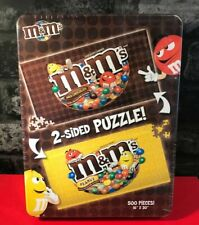 USAOPOLY - M & M's Double Sided 500 Piece Collectors Puzzle - Sealed