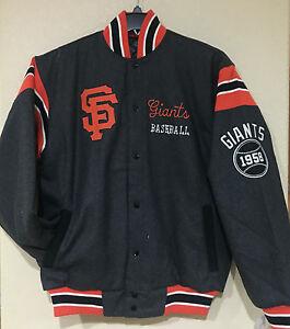 San Francisco GIANTS Victor Reversible WOOL Jacket - MLB Wool blend Jacket