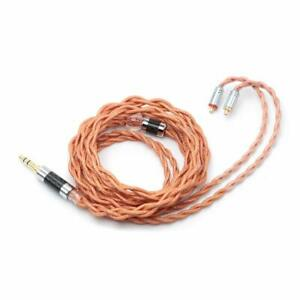 Linsoul LSC09 IEM HiFi Upgrade Cable 4 Core Single Crystal Copper Silver Plated