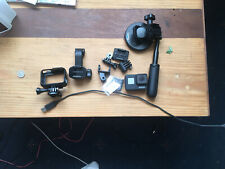 GoPro Hero7 32GB Camera - Black with 32GB MicroSD Card and Adhesive Mounts