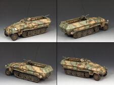 KING & COUNTRY WW2 GERMAN ARMY WS218 SD. KFZ. HALF TRACK 251 CAMOUFLAGED MIB