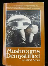 MUSHROOMS DEMYSTIFIED Autographed, David Arora 1st Printing, FIRST Edition