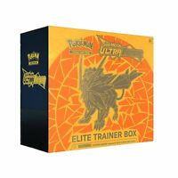 YELLOW DUSK MANE NECROZMA - Pokemon TCG Sun & Moon Ultra Prism Elite Trainer Box