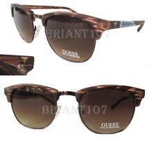 93fe5770c9f NWT GUESS GF0170 Womens Sunglasses Havana Brown  68