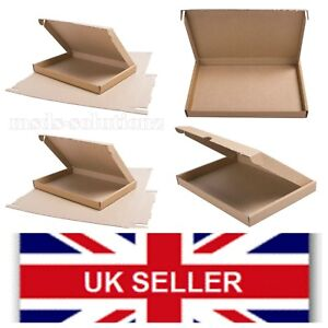"""Set Of 20 CARDBOARD BOXES """"C4/A4"""" Large Letter Postal Mailing Packaging Cartons"""