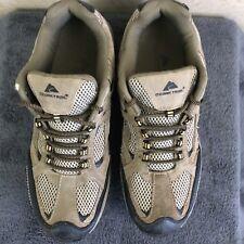 Men's Hiking Ozark Trail Leather Shoes Men'sSize 11 Brown Black