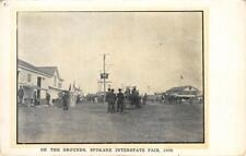 SPOKANE INTERSTATE FAIR On The Grounds, Washington 1906 Vintage Postcard