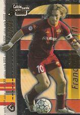FRANCESCO TOTTI - ROMA - CALCIO CARDS 2003 - PANINI - N. G8 - LEGGI