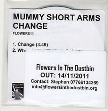 (GO921) Mummy Short Arms, Change - 2011 DJ CD