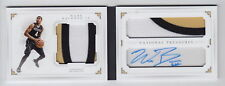 2016-17 National Treasures Wade Baldwin IV Patch Auto Booklet Rc 04/28 Jersey #