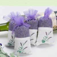 Lavender Rose Natural Dried Flower Bag Wardrobe Sachet Auto Car Air Fragrance_FR