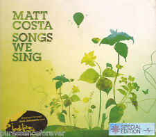MATT COSTA - Songs We Sing (UK 14 Track CD Album)