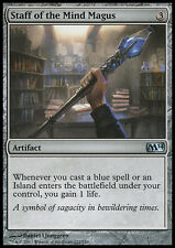 MTG 2x STAFF OF THE MIND MAGUS - BASTONE DEL MAGUS MENTALE - M14 - MAGIC