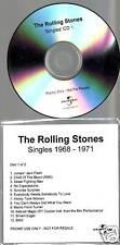 "Rolling STONES ""Singles 1968 - 1971"" 12 Track Promo CD"