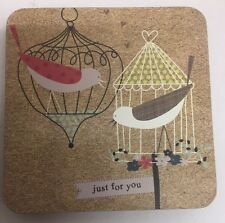 Just For You Shabby Chic Drinks Coaster Postcard Set of 4