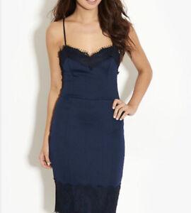 Kardashian Kollection for Lipsy Dress, Navy & Black Size 10