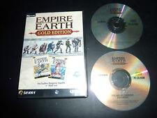 JEU PC EMPIRE EARTH + THE ART OF CONQUEST GOLD EDITION