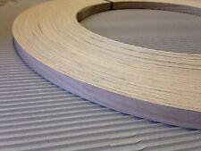 American blanc chêne déraciné placage de bois bordure de 1mm d'épaisseur x22mm x 100m edgebanding