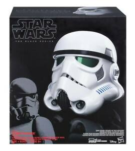 -=]HASBRO-Star Wars Black Series Electronic Voice Changer Helmet Stormtrooper[=-