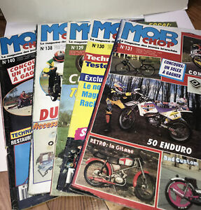 Lot 5 Magazine Mob Chop