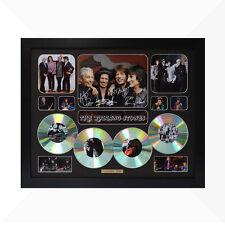 The Rolling Stones Signed & Framed Memorabilia - 4 CD - Black - Limited Edition