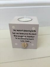 Shabby Personalised Chic Special Best Friend Candle Gift.. Birthday Present