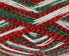 King Cole Glitz DK 100g Shade 1698 Christmas