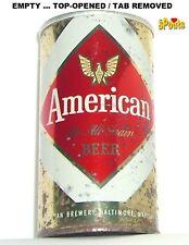 1966 BALTIMORE,MD AMERICAN THE ALL GRAIN BEER CAN TIN MARYLAND GOLD EAGLE 1-FACE
