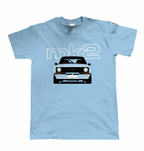 Mk2 Escort T Shirt, Gift for Dad Him Birthday